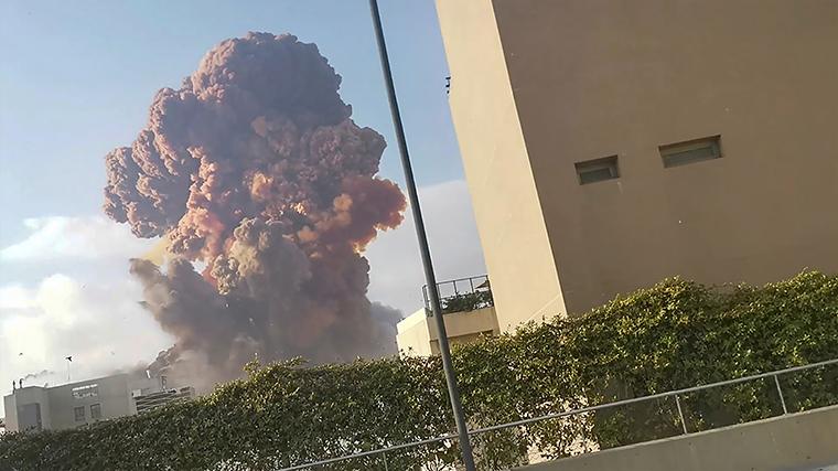 Взрыв в Бейруте: задержаны 16 сотрудников порта