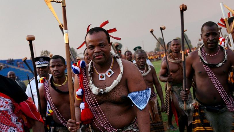 На карте Африки больше не будет королевства Свазиленд