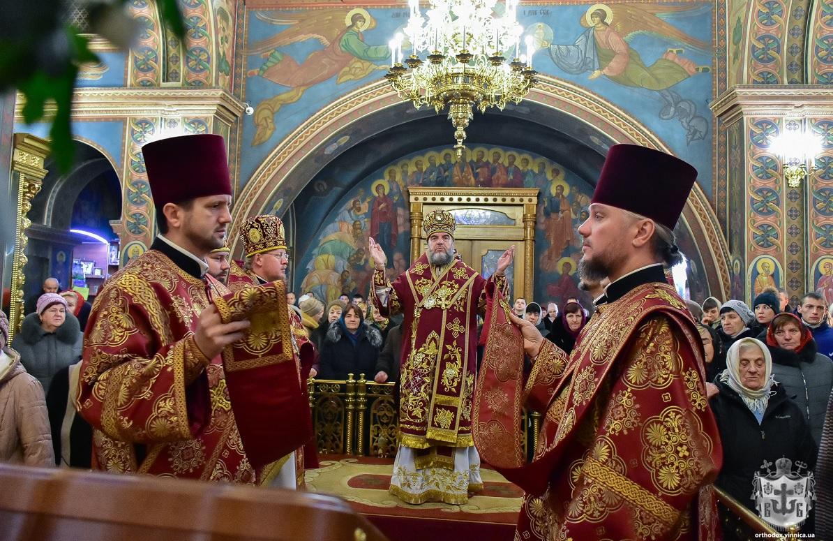 Винницкий собор перешел из УПЦ МП в новую поместную церковь