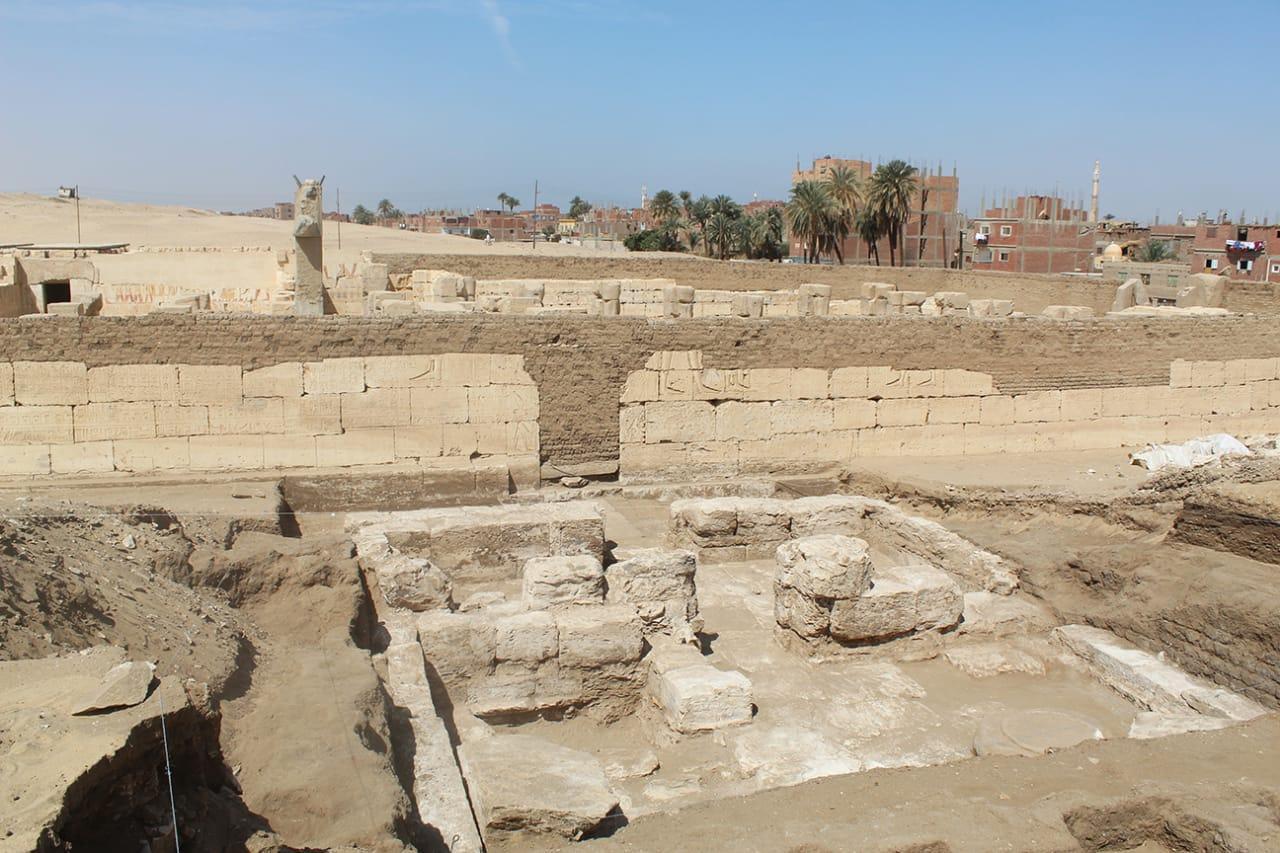 В Египте нашли руины дворца Рамсеса II