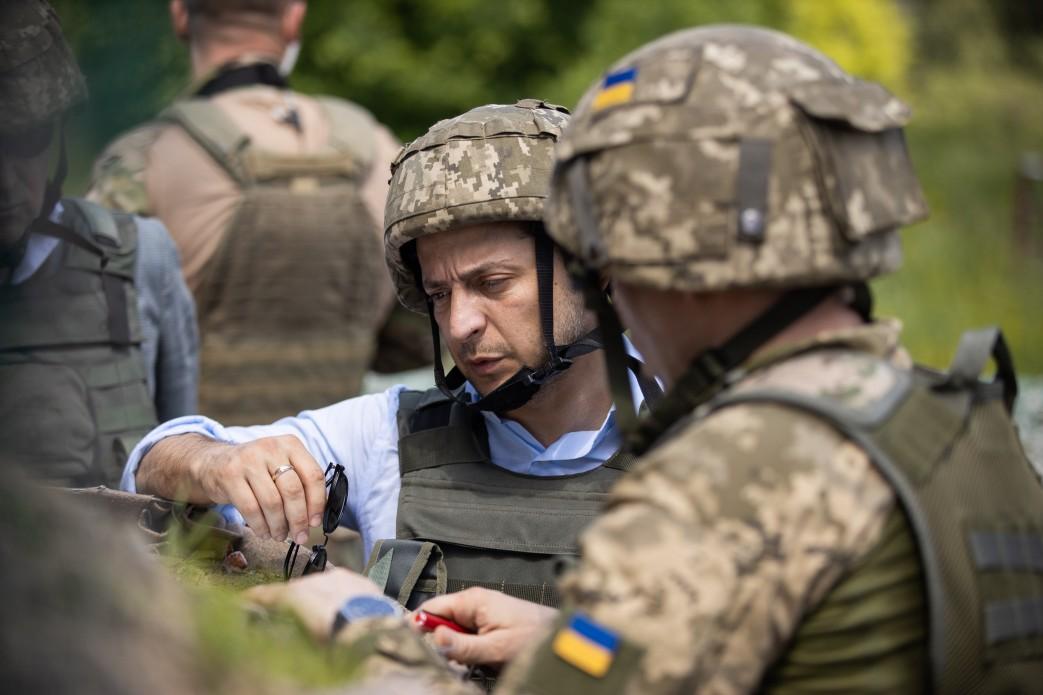 Зеленский едет в Донецкую область