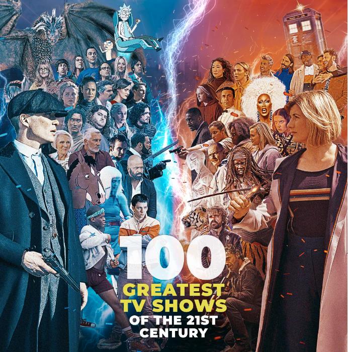 Названы ТОП-10 самых крутых сериалов века