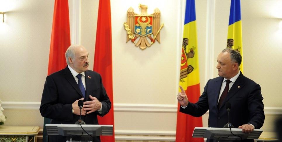 Додон хочет для Молдовы такой же диктатуры, как в Беларуси