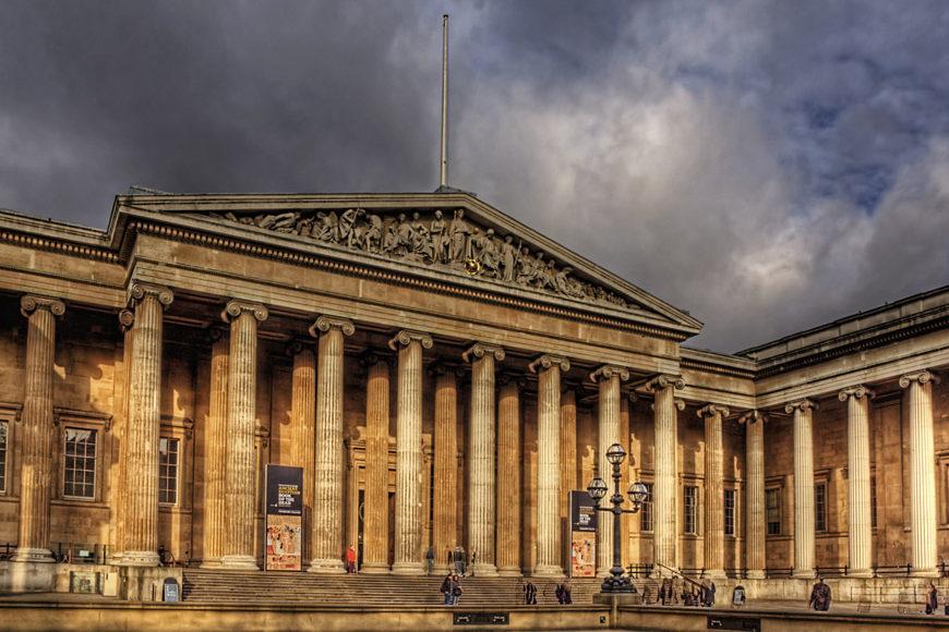 британский музей в лондоне фото забора