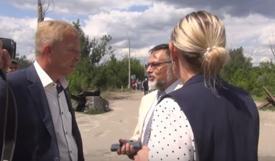 """СБУ объяснила, почему не были задержаны представители """"ЛНР"""" в Станице Лу..."""
