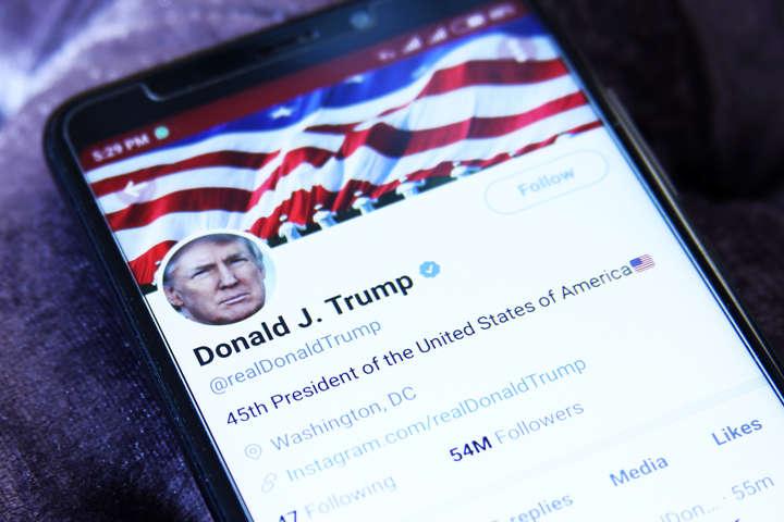 Twitter удалил твит Трампа о том, что от коронавируса есть лекарство