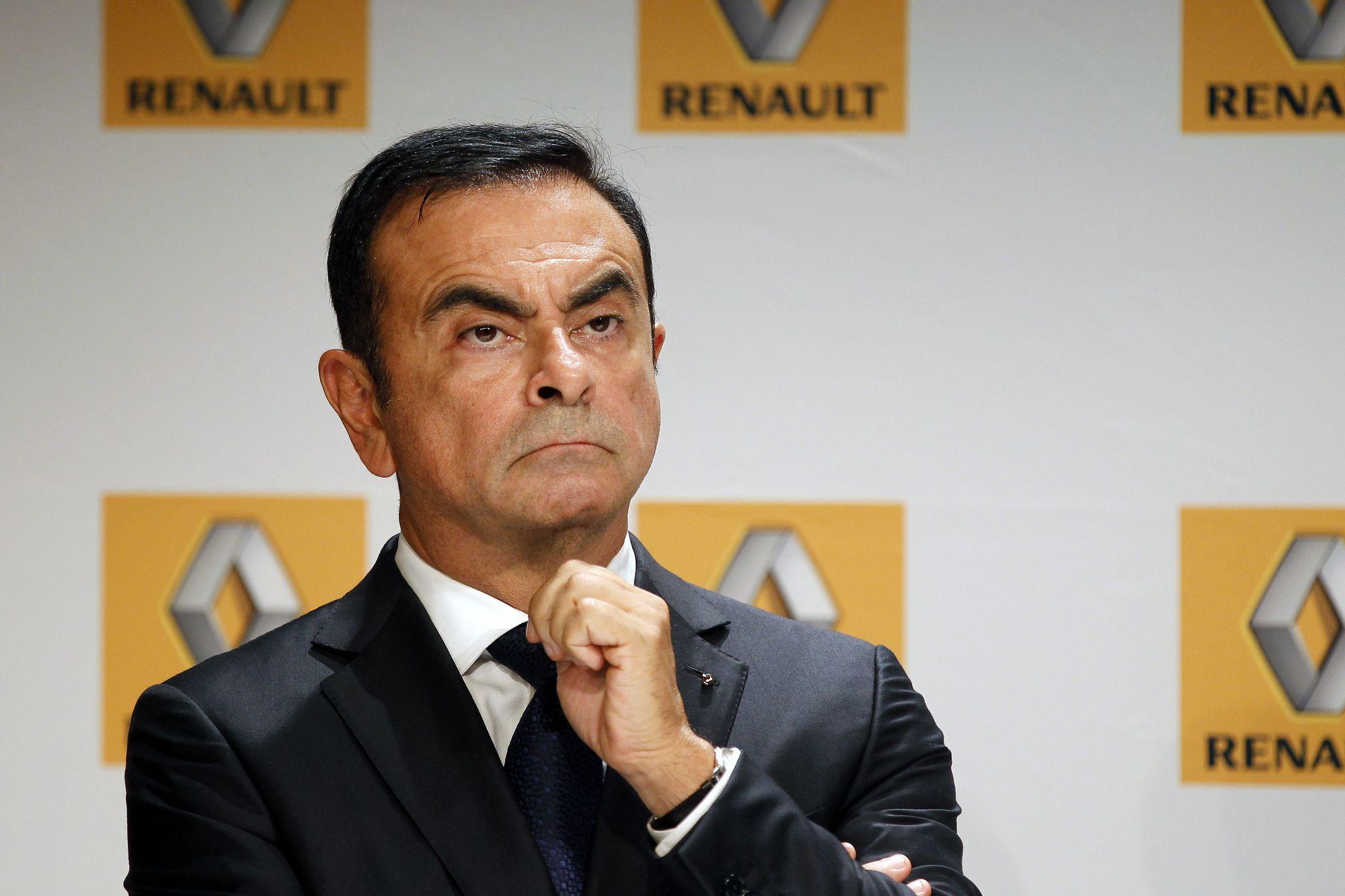 Карлоса Гона заподозрили в присвоении 3 млн долларов средств Renault