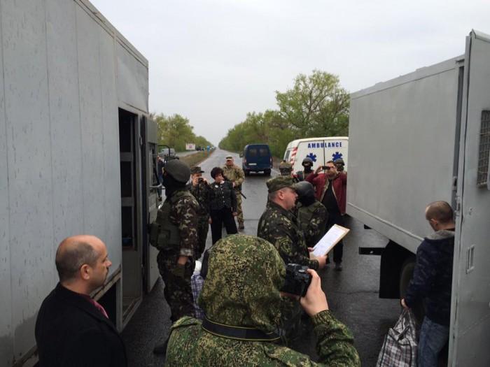 Минюст: Боевики заблокировали передачу Украине заключенных из зоны АТО