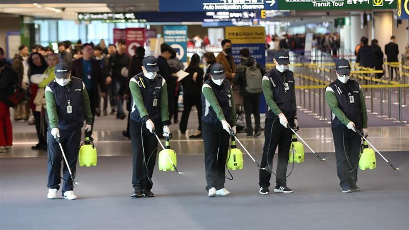 Китай, коронавирус, аэропорты в Китае