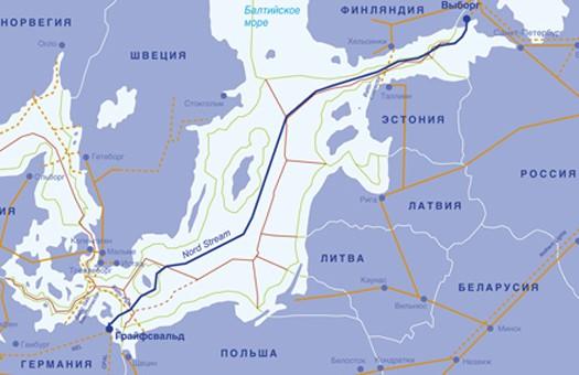 Швеция одобрила строительство Северного потока