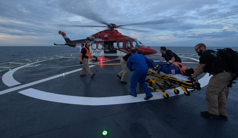 NASA и SpaceX провели учения по эвакуации экипажа Crew Dragon