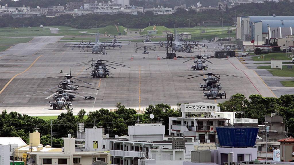 На военной базе США в Японии прогремел взрыв