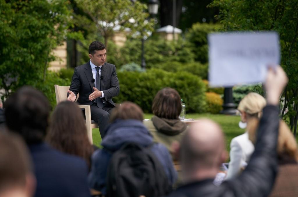 При отборе СМИ на пресс-конференцию у Зеленского учитывали опыт Британии...