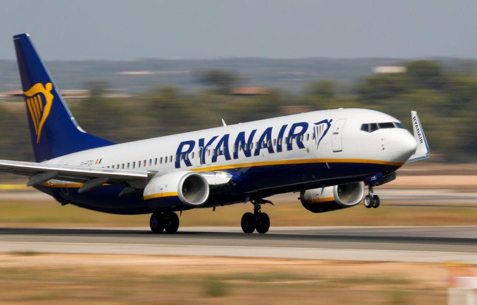 Авиакомпания Ryanair исправила написание украинских городов