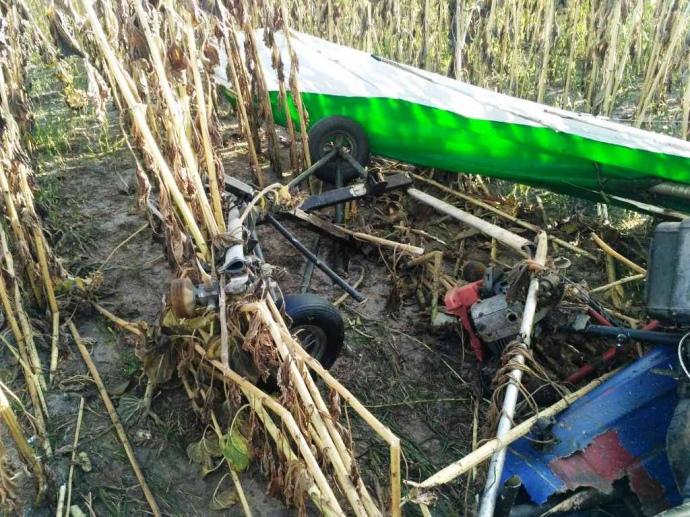 Под Житомиром разбился дельтаплан: 59-летний пилот погиб
