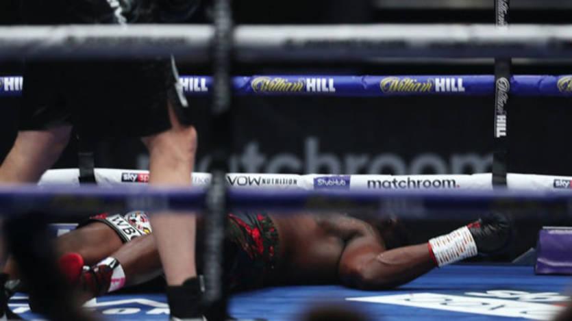 Диллиана Уайта на месяц отстранили от бокса после тяжелого нокаута от По...