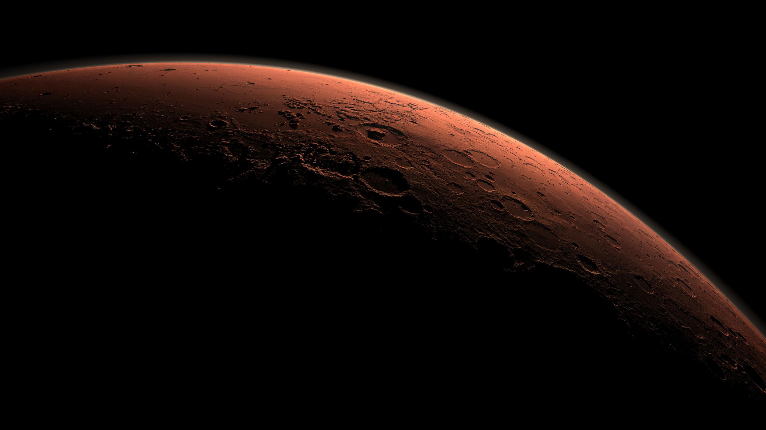В воде Марса может быть жизнь
