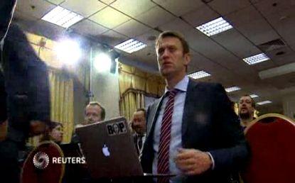 Навальный стал лидером незарегистрированной партии Народный альянс