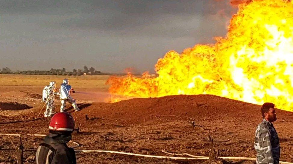Взрыв на газопроводе: по всей Сирии отключилось электричество