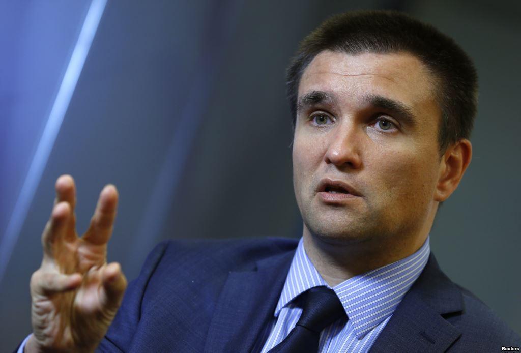 Климкин не против ввести визовый режим с Россией
