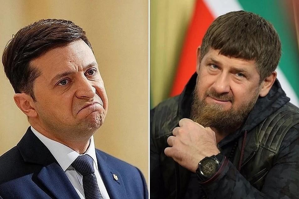 Зеленский не будет отвечать Кадырову