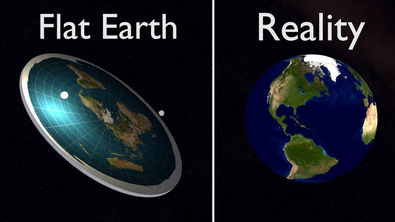Ученые обвинили YouTube в распространении идей о плоской Земле