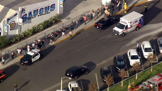 Стрельба в школе в Калифорнии: 16-летний стрелок умер в больнице