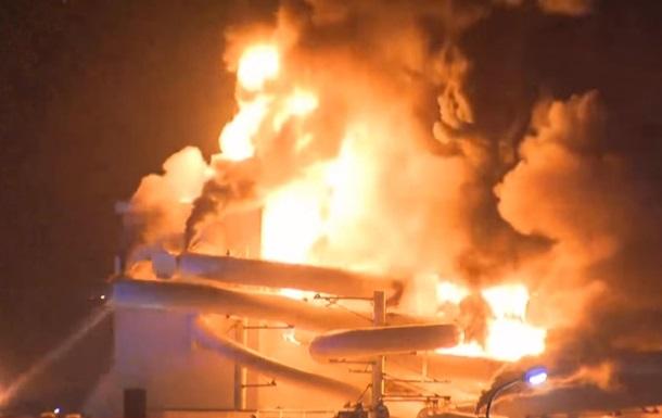 За несколько дней до открытия в Бельгии сгорел аквапарк