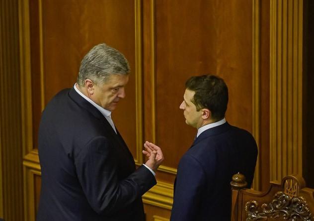 """Зеленский: Порошенко обижал меня, рассказывал обо мне """"байки"""" международ..."""