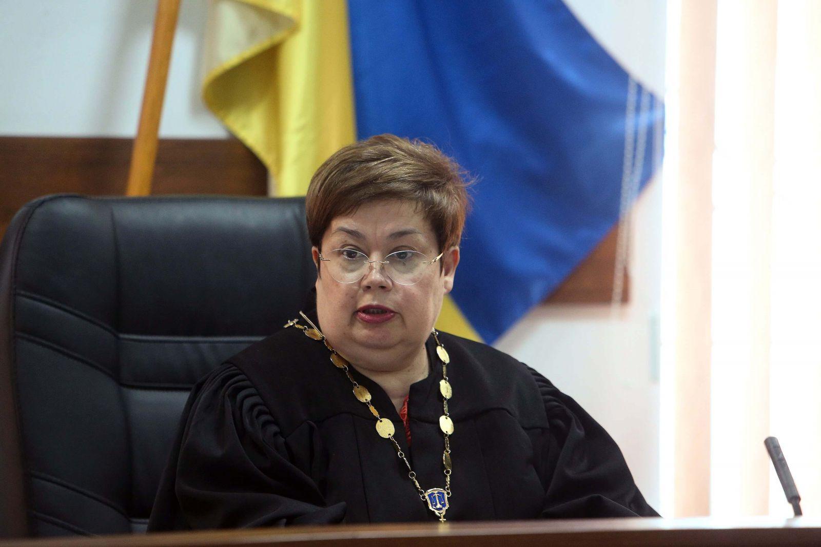 фото, Елена Мелешак, председатель Шевченковского районного суда Киева