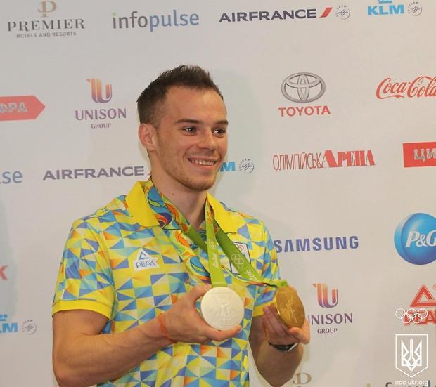 Лучшим спортсменом месяца в Украине в восьмой раз стал гимнаст Верняев