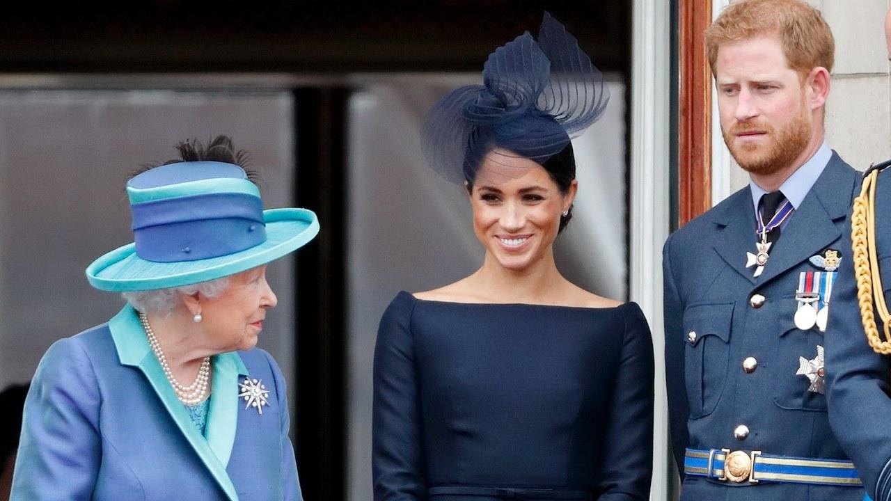 Елизавета II запретила принцу Гарри и его жене использовать титул в комм...