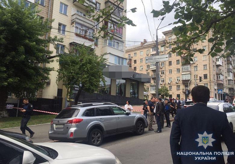 Расстрел кавказца в Киеве: погибшего задерживали за попытку убийства