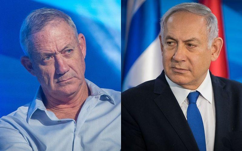 У Нетаньяху на одно место в Кнессете больше, чем у Бени Ганца