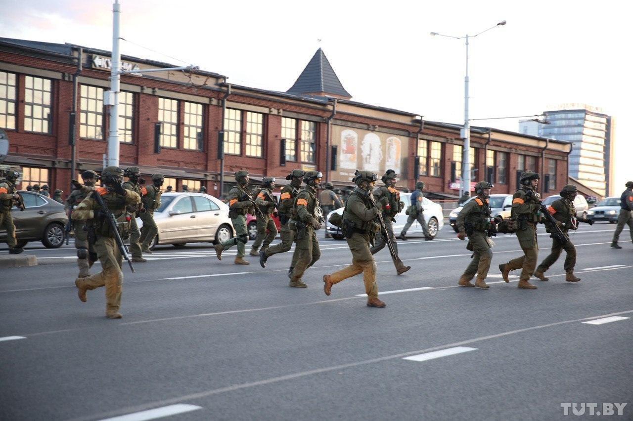 По демонстрантам в Минске открыт огонь, — СМИ