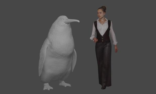 В Новой Зеландии нашли скелет пингвина-монстра ростом с человека
