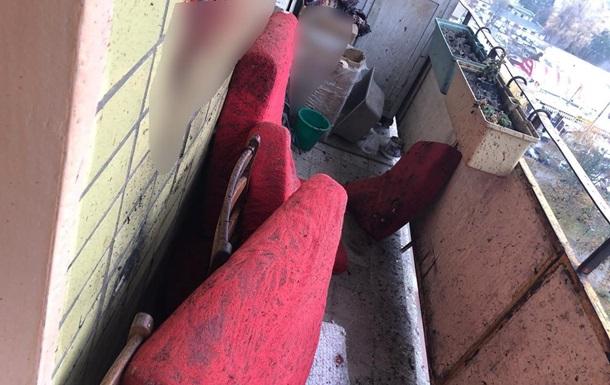 23-летний харьковчанин подорвал себя гранатой на балконе