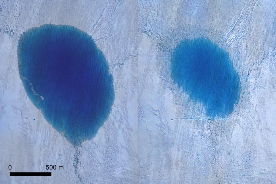 В Гренландии могут прятаться самые большие водопады на планете