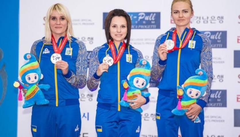 Женская сборная Украины стала чемпионом Европы в стрельбе из пневматичес...