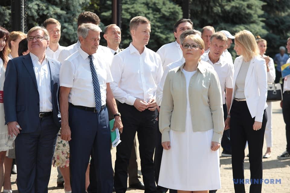 """Тимошенко заявила, что """"Батькивщина"""" не будет в оппозиции"""