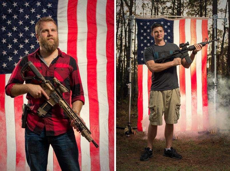 В США массово запрещают бывшим военным владеть оружием