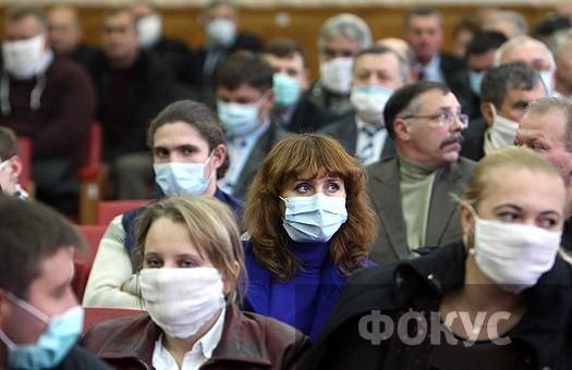 В Запорожской области эпидемиологический порог превышен на 10%
