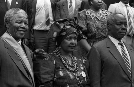 Снимут байопик жены Манделы