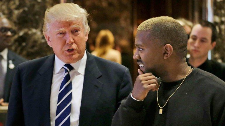 """""""Он всегда будет за нас"""". Трамп высказался о выдвижении Канье Уэста на в..."""