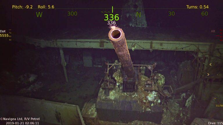 В Тихом океане нашли авианосец USS Hornet, затонувший во время Второй ми...