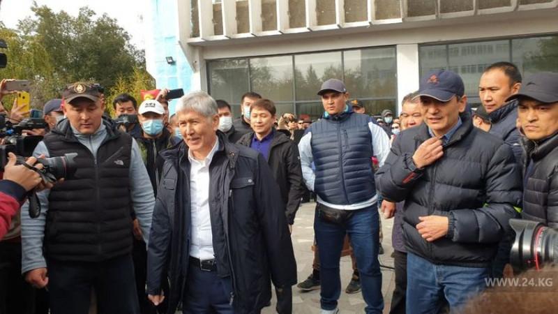 На экс-президента Кыргызстана Атамбаева совершено покушение
