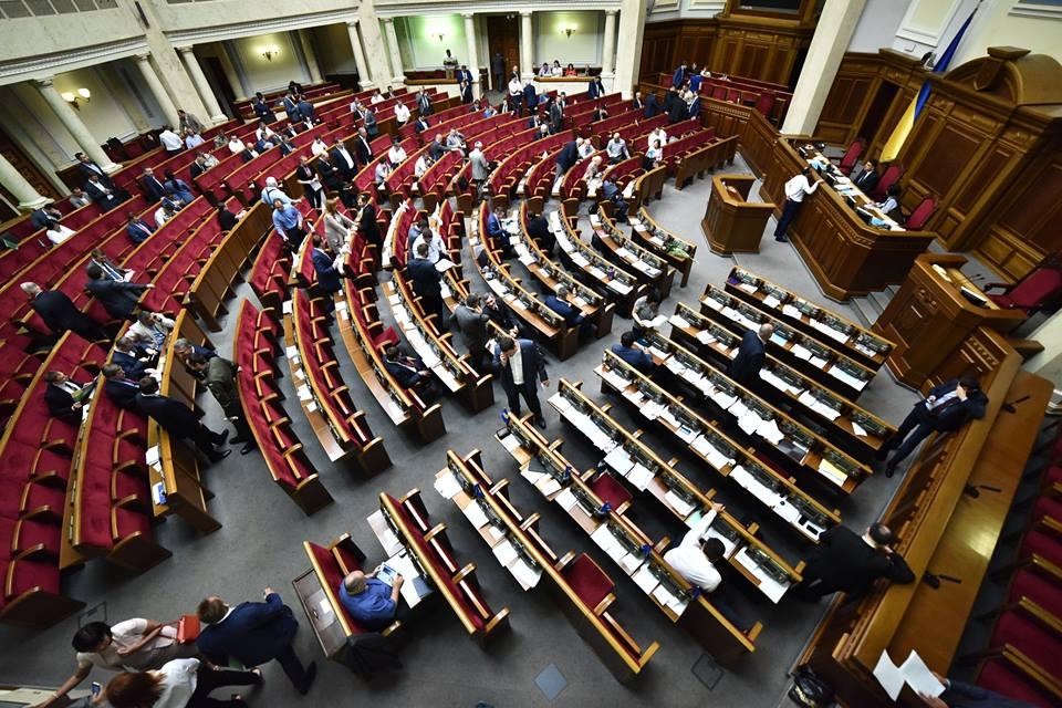 """В парламент проходят четыре партии, лидируют """"Слуга народа"""" и """"Оппозицио..."""