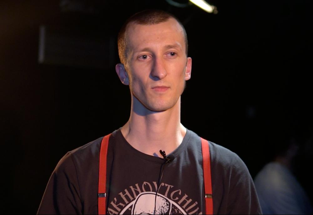 Антифашист Александр Кольченко задержан под посольством Беларуси в Киеве