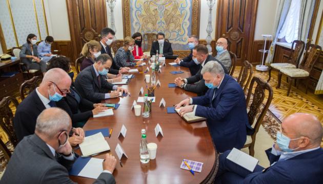 Ермак проинформировал послов G7 о результатах переговоров советников лид...
