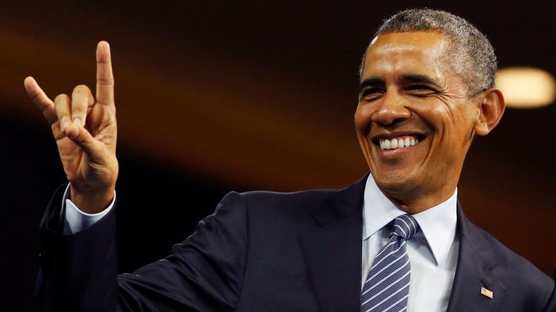 Песня, в которой Обама зачитывает слова Джорджа Вашингтона, уже попала в...